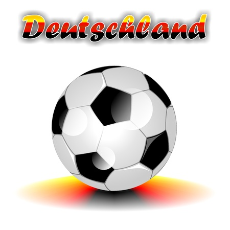 DEUTSCHLAND soccer ball photo