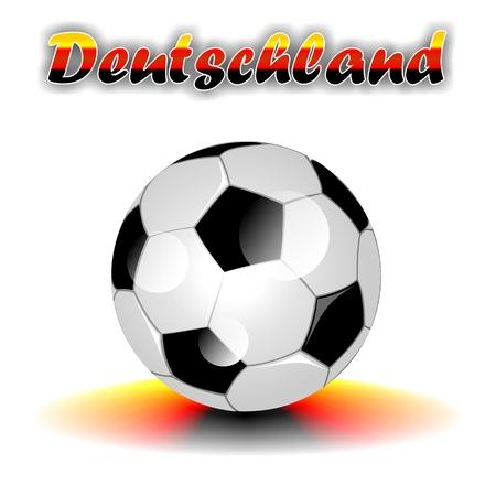 deutschland: DEUTSCHLAND soccer ball