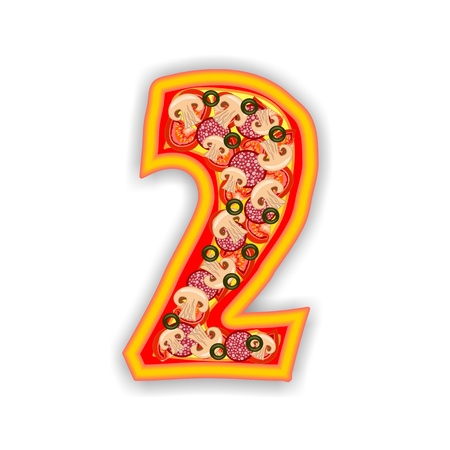 PIZZA - NUMBER - 2 photo