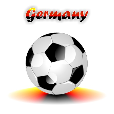 GERMANY soccer ball  photo