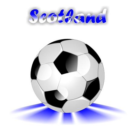 scotish: SCOTLAND soccer ball