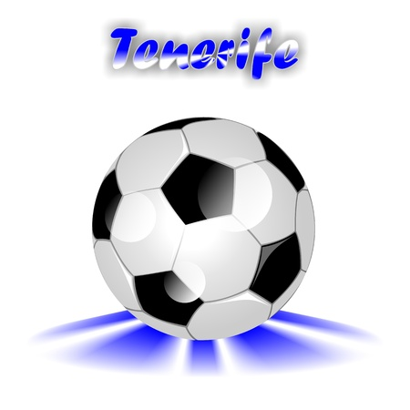 TENERIFE soccer ball  photo