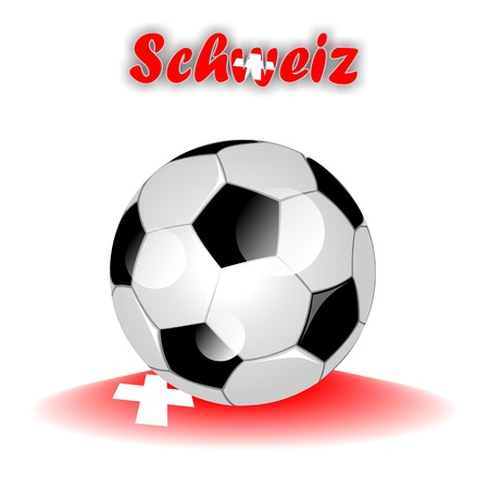schweiz: SCHWEIZ soccer ball