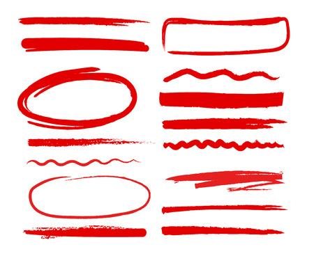 Formes dessinées à la main Vecteurs