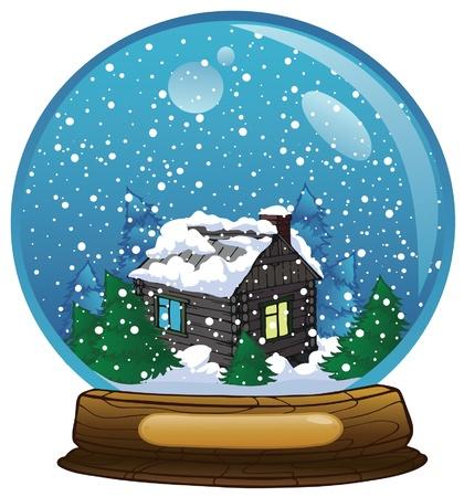boule de neige: Boule à neige