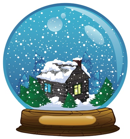 4,673 Snow Globe Cliparts, Stock Vector And Royalty Free Snow ...