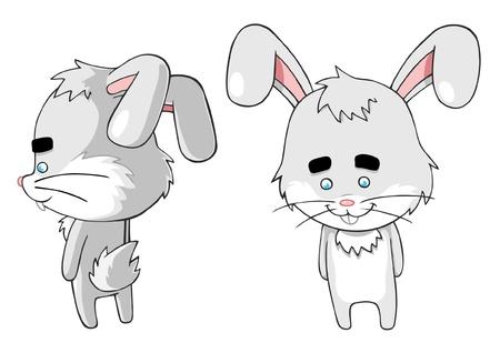 Happy bunny  Stock Vector - 17011875