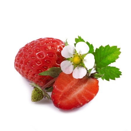 Appetizing strawberry  Isolated on a white background Stock Photo - 20853388