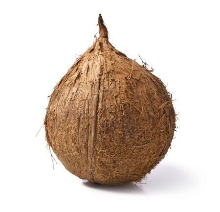 coconut isolated on white background Stock Photo