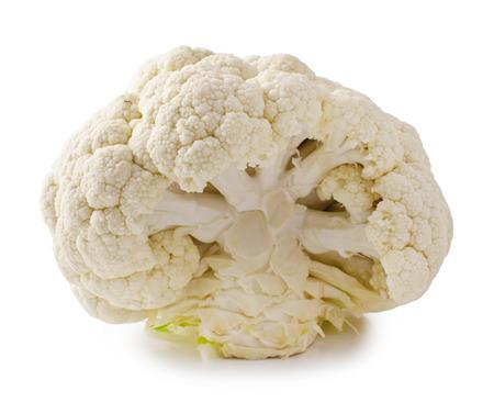 cauliflower on a white background  Stock Photo