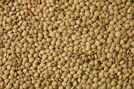 background of dry lentils