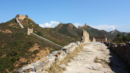 The great wall of beijing ,China Stock Photo - 10696337
