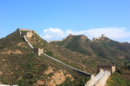 The great wall of beijing ,China photo
