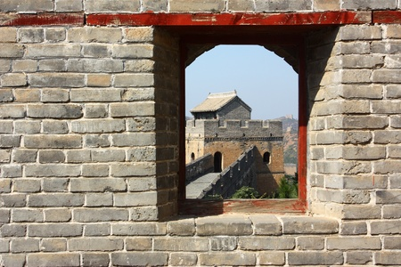 The great wall of beijing ,China Stock Photo - 10696104