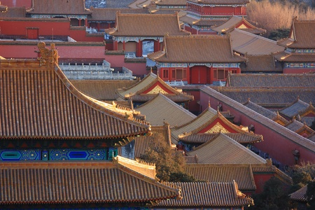 Lying at the center of Beijing, the Forbidden City, called Gu Gong, in Chinese, was the imperial palace during the Ming and Qing dynasties. Now known as the Palace Museum, it is to the north of Tiananmen Square.