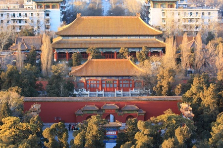 turret: Turret,Forbidden city China Editorial