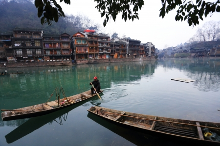 landscape of Chinese historic town