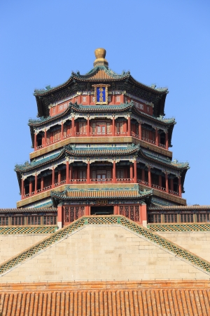 main building of The Summer Palace of China