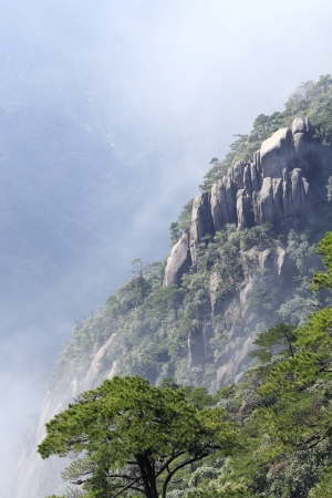 landscape of mountains of china photo