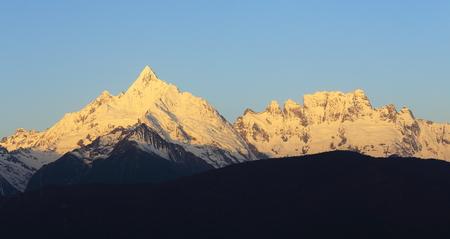 snow mountain in China,Tibet photo