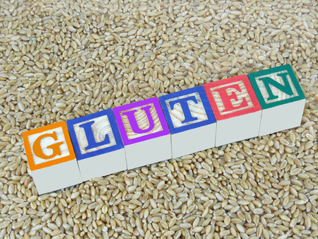 bowel disorder: Concept to indicate wheat contains gluten.
