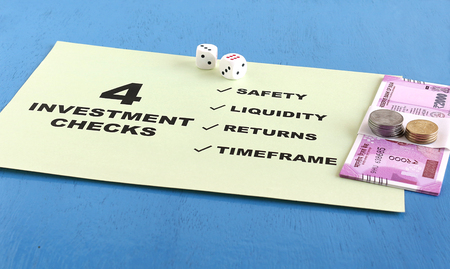 timeframe: Concept of the checks an investor should make before investing. The checks are safety, liquidity, returns and timeframe.