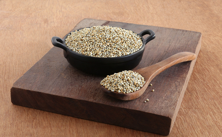 Pearl millet or bajra is a healthy food rich in protein, fiber, phosphorous, magnesium and iron.
