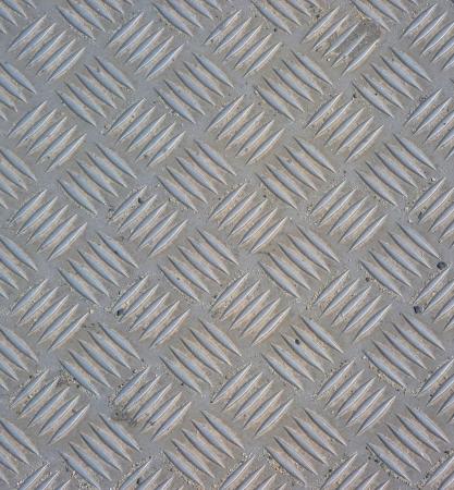 checker plate: metal tile