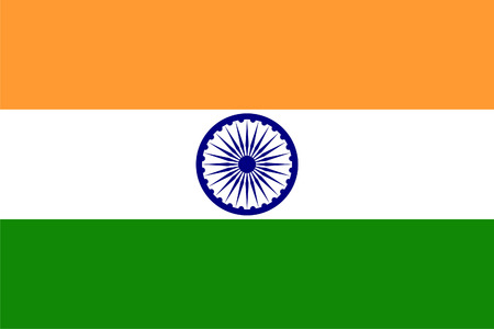 Flag of India photo