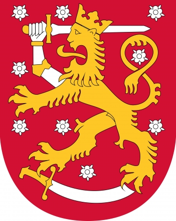 lapland: Finland coat of arms