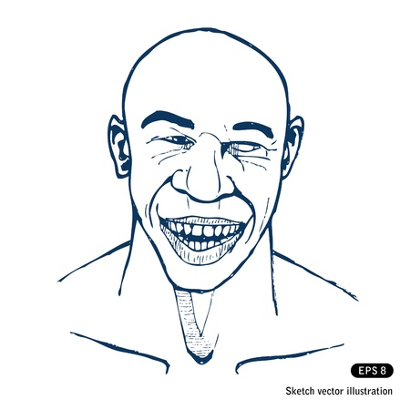 Smiling man. Stock Vector - 14957035