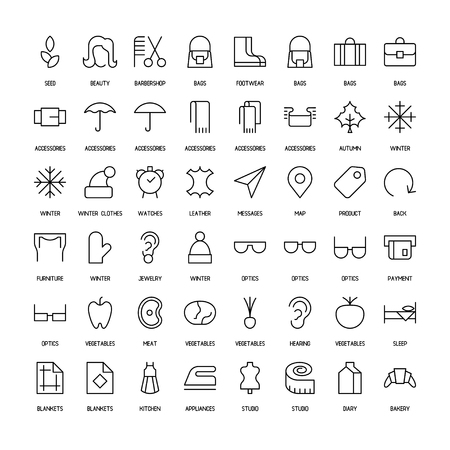 back belt: World activities and organizations simple icons set. Paths. Vector illustration