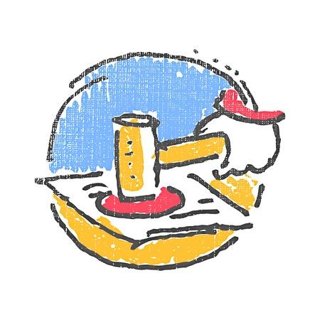 legislation: Legislation emblem. Textured stamp. Vector illustration