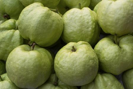 guayaba: fruta guayabas. Foto de archivo