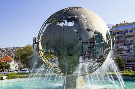 paz mundial: Mundial monumento a la paz en Alsancak