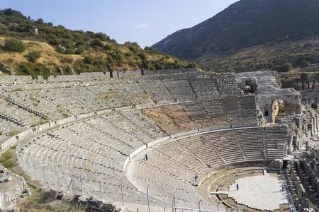 grec antique: Ruines des anciennes cit�s grecques Eph�se Banque d'images