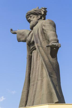 Huge statue of Mevlana Rumi