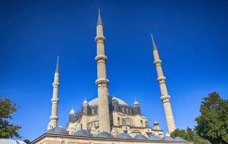 Selimiye Mosque, The UNESCO World Heritage Site Of The Selimiye Mosque, Built By Mimar Sinan, Edirne, Turkey Stock Photo