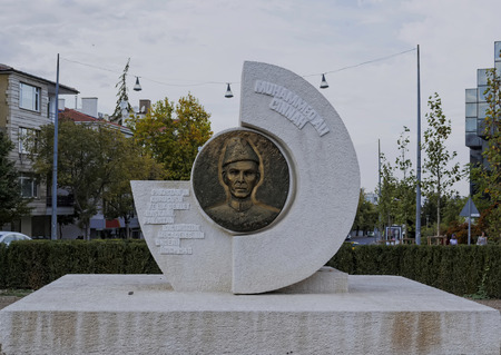 jinnah: ANKARA, TURKEY -  Muhammad Ali Jinnah monument Editorial