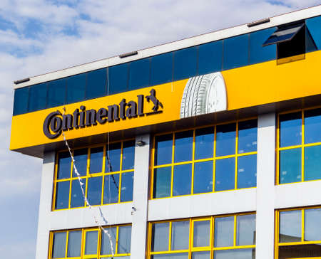 Continental AG is a rubber company founded in 1871 in Hannover, Germany.