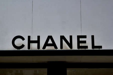 Chanel shop in place Vendome in Paris. Chanel is a fashion house founded in 1909 specialized in haute couture and luxury goods Éditoriale