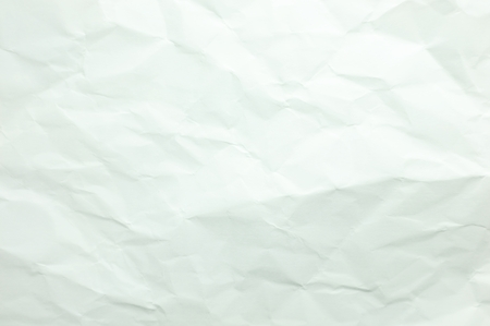 scrunch: crumpled white paper texture background Stock Photo
