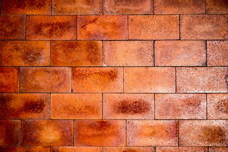 quemadura: Ladrillo quemadura textura de fondo