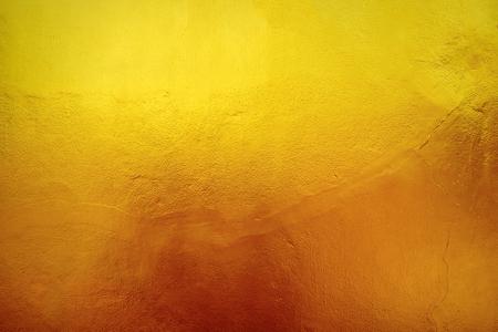 textured wall: Wall surface yellow gold furrow textured