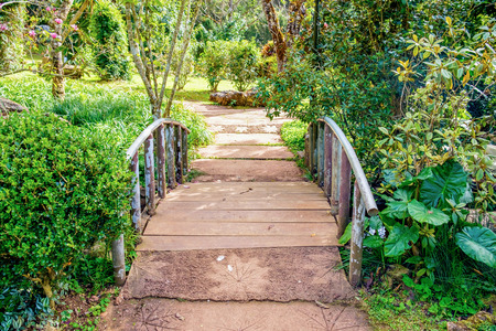 sylvan: Walkway bridge sylvan in garden