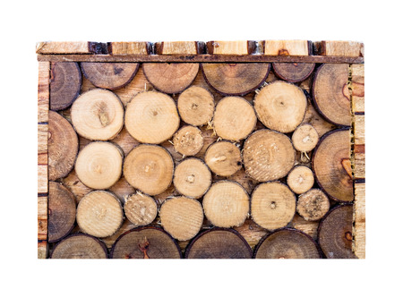 tabulate: Box square wood log brown overlay pattern