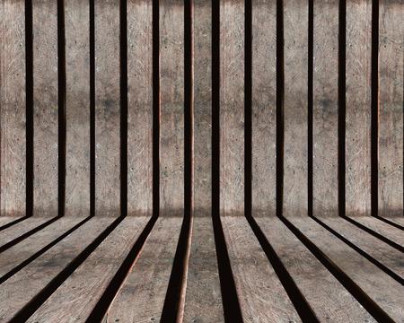 Wood slat old brown textured background 免版税图像