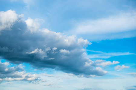 Cloud sky fluffy abstract background