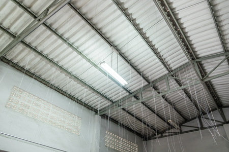 Ceiling building make inside structure house
