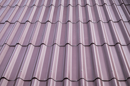 Purple tile roof cover sorted